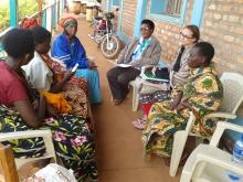 Focus group on women leadership